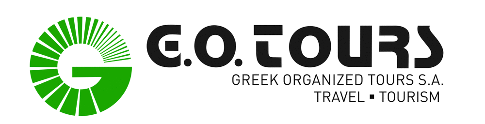 G.O. tours logo - Greek Organized Tours
